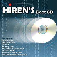 اسطوانة الهيرنز النادرة Hiren's BootCD 9.5 بأفضل إصدار لها + شرح كامل بالصور لكل استخداماتها