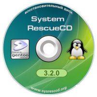 اسطوانه الصيانة  و المتخصصة فى اصلاح مشاكل النظام و الهار SystemRescueCd 3.4.0