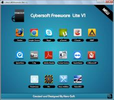 اسطوانة سيبر سوفت للبرامج الخدمية 2013 Cybersoft freeware lite للتحميل بروابط مباشرة