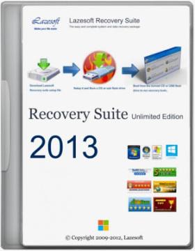 البرنامج الشامل فى استعادة النظام وملفات الريجيسترى والملفات المحذوفة Lazesoft Recovery Suite Unlimited Edition 3.4.2 + التفعيل