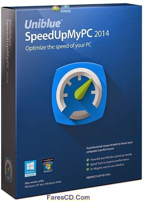 احصل على أعلى سرعة من موارد حاسوبك مع برنامج Uniblue SpeedUpMyPC 2014 6.0.4.10 للتحميل برابط مباشر مع التفعيل