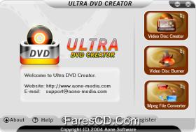 برنامج نسخ اسطوانات الفيديو دى فى دى | Aone Ultra DVD Creator 2.9.1222