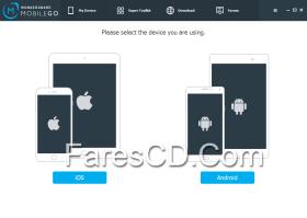 برنامج إدارة الهواتف الذكية 2015 | Wondershare MobileGo 7.0.0.14