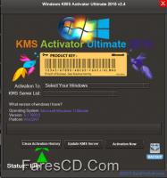 أكتيف تفعيل كل الويندوزات | KMS Activator Ultimate 2015 2.4