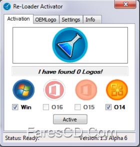 تفعيل كل منتجات ميكروسوفت | Re-Loader Activator 1.3 Alpha 6