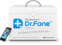 برنامج استعادة المحذوفات من الايفون | Wondershare Dr.Fone for iOS 5.5.5