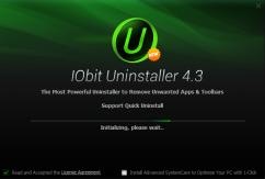 برنامج إزالة تثبيت البرامج بالكامل | Iobit Uninstaller 4.3.0.118