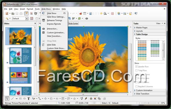 برنامج الأوفيس المجانى 2015   LibreOffice 4.4.3 RC 1 (2)
