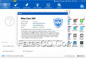 برنامج تسريع وتنظيف الويندوز | Wise Care 365 Pro 3.59 Build 319