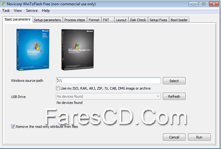 برنامج نسخ الويندوز على الفلاش  WinToFlash 0.8.0122 beta Portable (2)