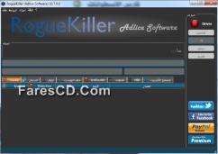 برنامج إزالة الفيروسات والملفات الخبيثة | RogueKiller 10.7.0.0 Portable