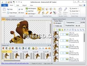 برنامج إنشاء وتصميم الصور المتحركة   EximiousSoft GIF Creator 7.30