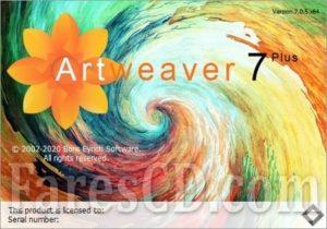 برنامج الرسم و التلوين و تعديل الصور   Artweaver Plus 7.0.7.15492