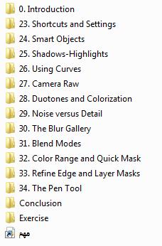 كورس ليندا لإحتراف الفوتوشوب Photoshop CC One-on-One Advanced المستوى الثالث (1)