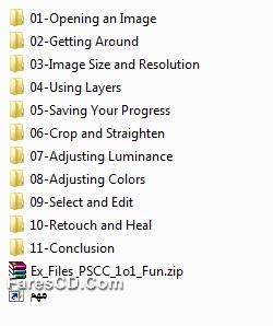 كورس ليندا لإحتراف الفوتوشوب Photoshop CC One-on-One Fundamentals المستوى الأول (3)