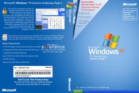3 نسخ ويندوز إكس بى خام 2015   Windows XP En-Ar-Fr
