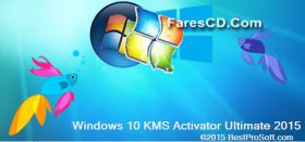 أكتيفيتور تفعيل كل الويندوزات   Windows 10 KMS Activator Ultimate 2015 1.2