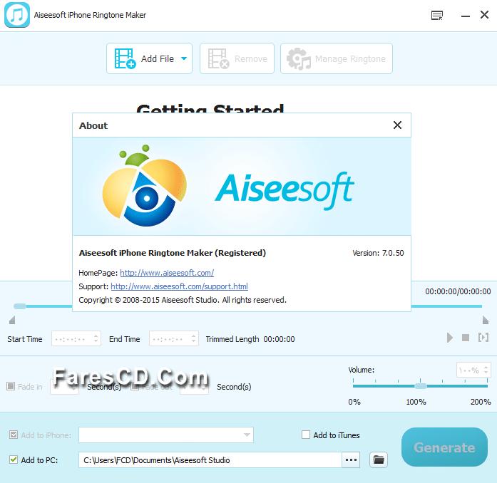 تجميعة برامج شركة Aiseesoft  العالمية   Aiseesoft Multimedia Software Toolkit 7.2.30 (6)