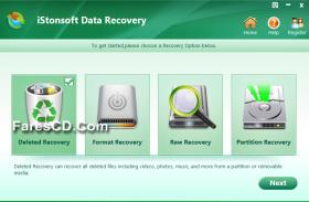 برنامج استعادة الملفات المحذوفة | iStonsoft Data Recovery 2.1.36