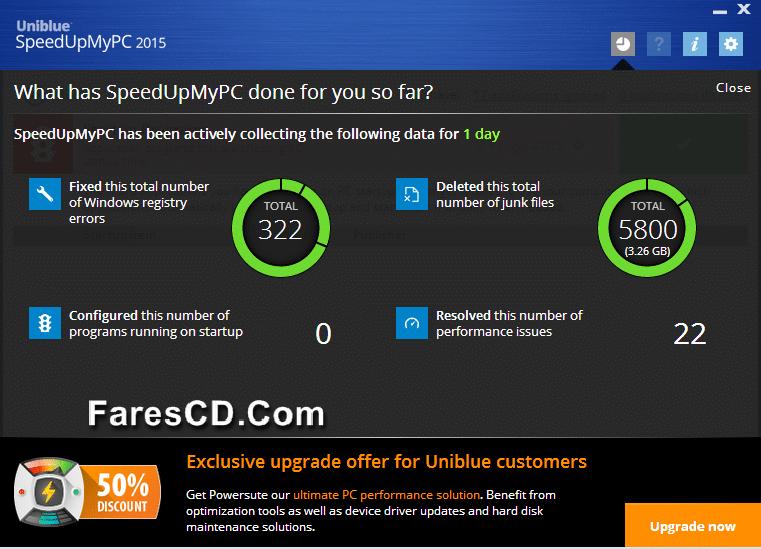 برنامج تسريع الويندوز والإنترنت  Uniblue SpeedUpMyPC 2015 6.0.12 (3)