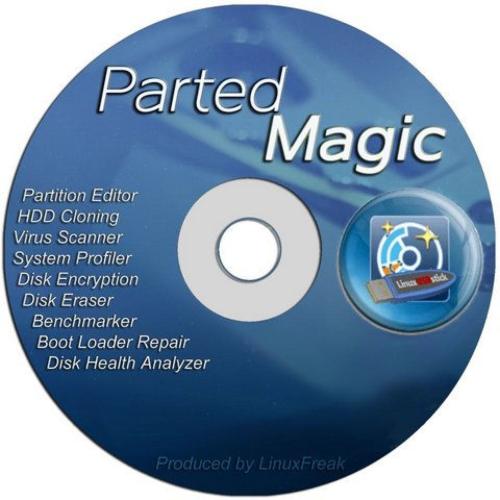 اسطوانة تقسيم وصيانة الهارد  Parted Magic 2016.04.26 (2)