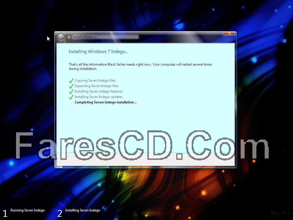 أحدث إصدارات ويندوز سفن المعدلة  Windows 7 Indego Core Lite April x64 (4)
