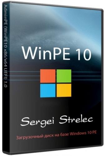 اسطوانة ويندوز 10 للصيانة | WinPE 10 Sergei Strelec (x64) 2016.04.28
