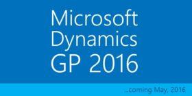 برنامج المحاسبة من ميكروسوفت | Microsoft Dynamics GP 2016