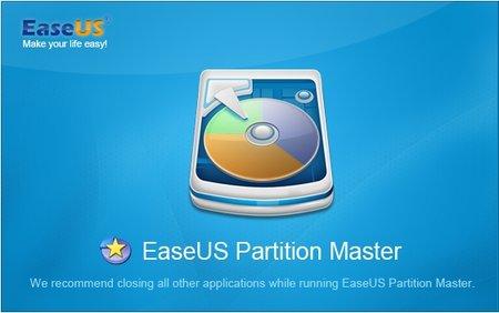 برنامج تقسيم الهارديسك   EaseUS Partition Master v11