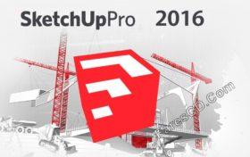 برنامج سكتش أب 2016 | SketchUp Pro 2016 16.1.2105