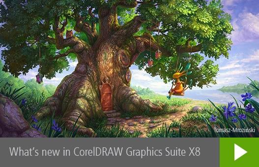 برنامج كوريل درو 2016  CorelDRAW Graphics Suite X8 18.0.0.450 (2)