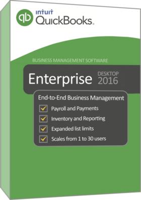 برنامج كويك بوكس 2016 | Intuit QuickBooks Enterprise Accountant 2016