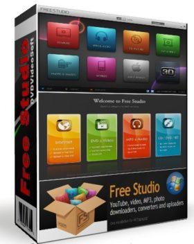 تجميعة برامج الميديا الشاملة   Free Studio 6.6.13.518