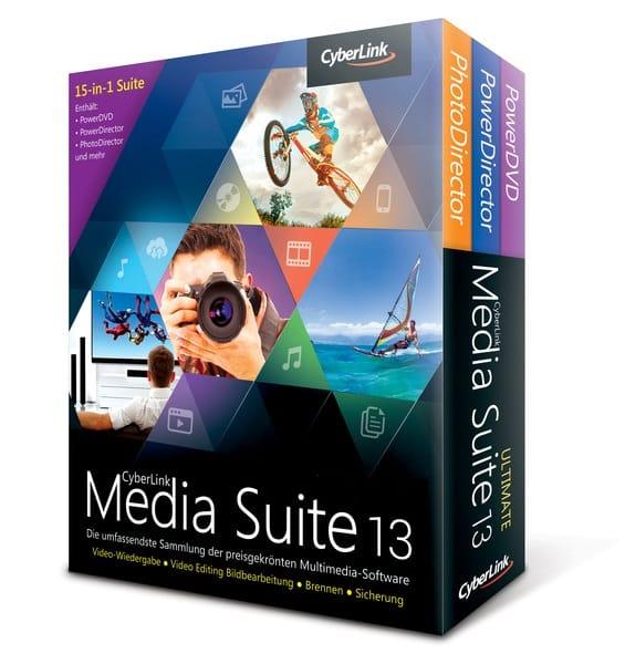 تجميعة برامج سيبر لينك للمالتيميديا | CyberLink Media Suite Ultra 13.0.0713.0 Retail
