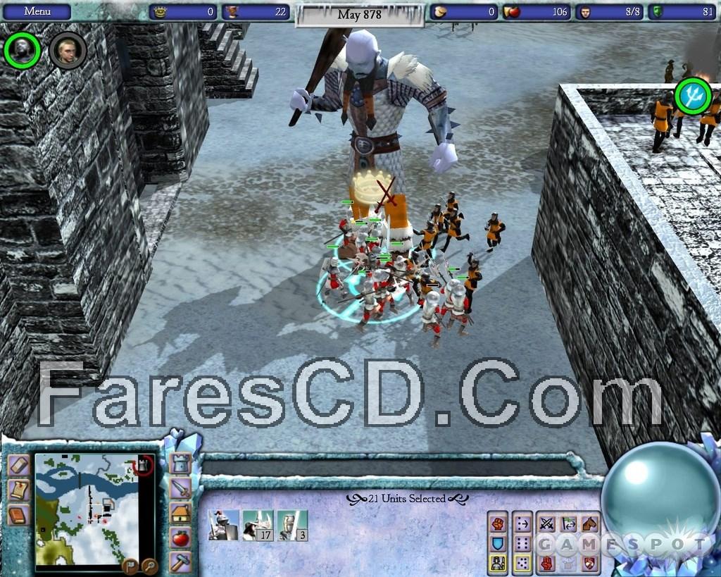 تحميل لعبة stronghold 3