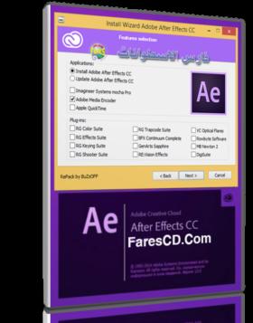 نسخة ريباك من أدوبى افتر إفكت مع الإضافات |  Adobe After Effects CC 12.2.1.5  RePack