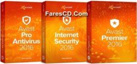 الإصدارات الجديدة لبرنامج أفاست للحماية | Avast! 2016 12.1.3076.0 Final