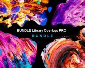 موسوعة الصور عالية الجودة | Creativemarket BUNDLE Library Overlays PRO