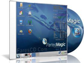 اسطوانة تقسيم وصيانة الهارديسك   Parted Magic 2016.07.12