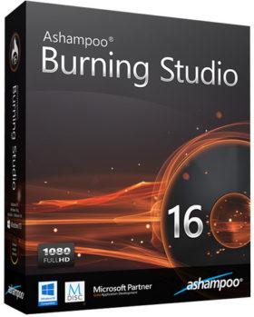 برنامج أشامبو لنسخ الاسطوانات | Ashampoo Burning Studio 16.0.7.16