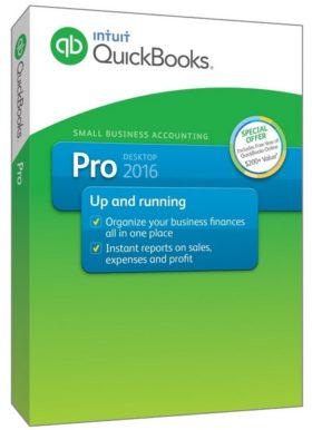 إصدار جديد من برنامج كويك بوكس لإدارة الأعمال | Intuit QuickBooks Desktop Pro 2016 16.0 R8