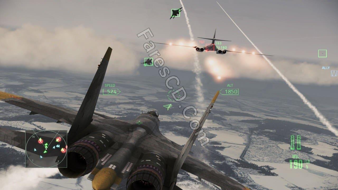 تحميل لعبة  Ace Combat Assault Horizon Enhanced Edition (2)
