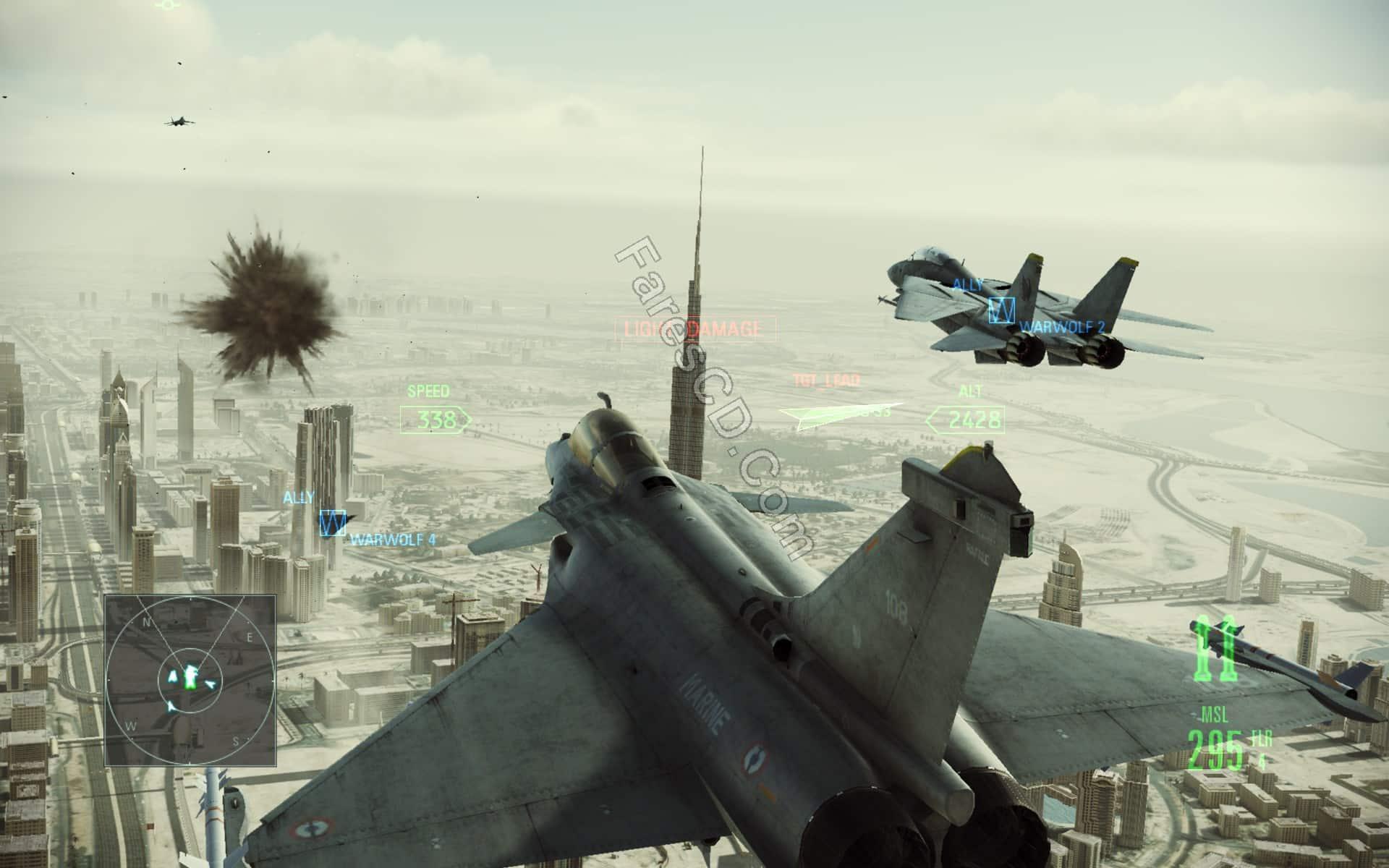 تحميل لعبة  Ace Combat Assault Horizon Enhanced Edition (3)