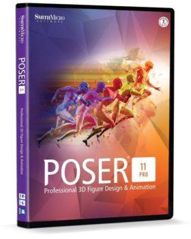 برنامج تصميم الشخصيات الكرتونية | Smith Micro Poser Pro 11.0.5.32974