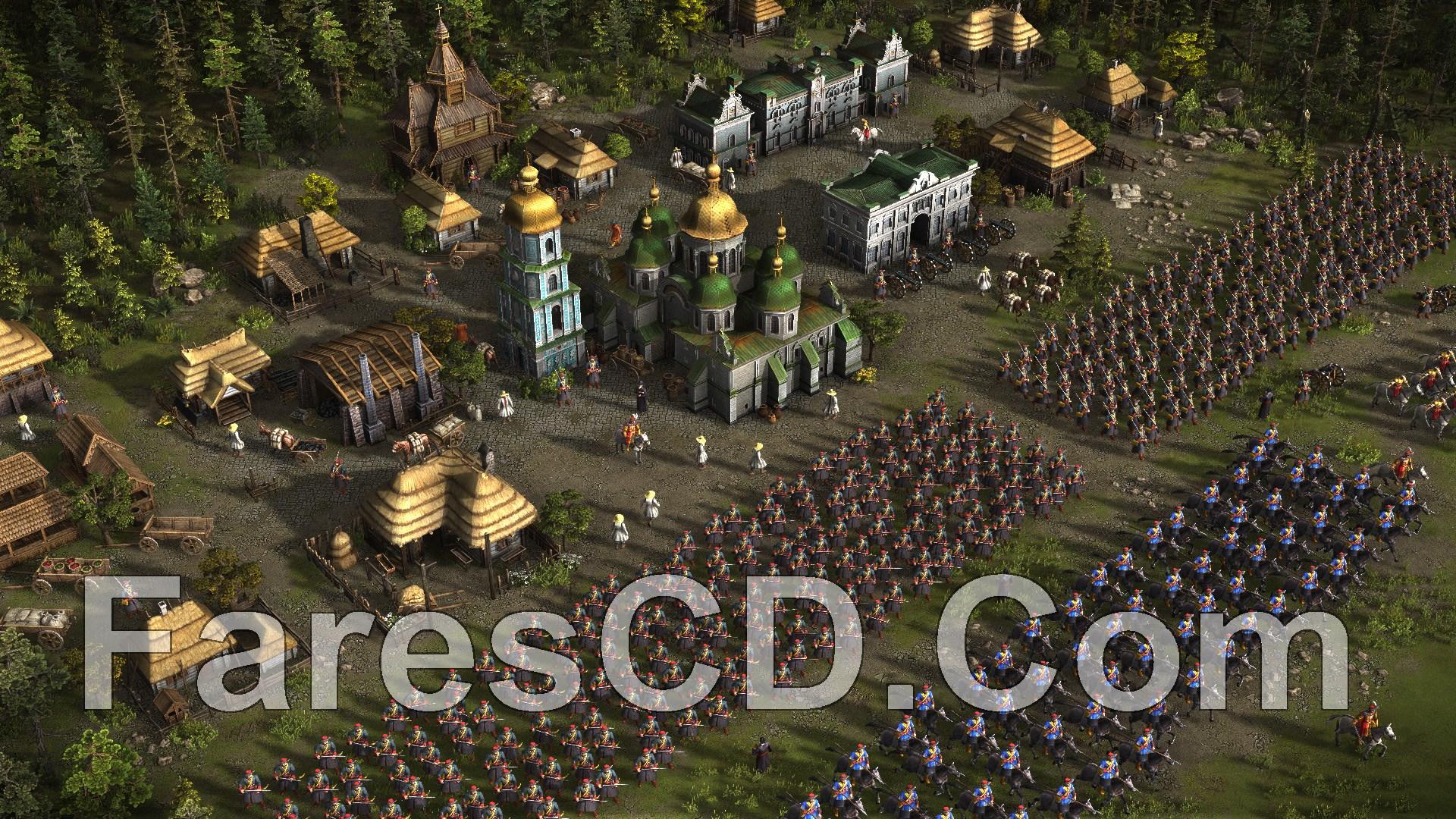 تحميل لعبة cossacks