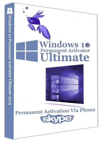 أداة تفعيل ويندوز 10   Windows 10 Permanent Activator Ultimate 1.8