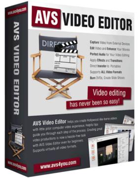 إصدار جديد من برنامج مونتاج الفيديو | AVS Video Editor 7.4.1.281