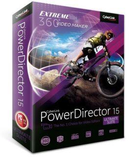 برنامج باور دايريكتور لمونتاج الفيديو | CyberLink PowerDirector Ultimate Suite 15.0.2026
