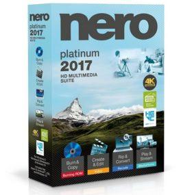 برنامج نيرو 2017 | Nero 2017 Platinum 18.0.06100
