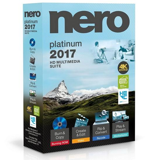 إصدار جديد من برنامج نيرو | Nero 2017 Platinum 18.0.08500